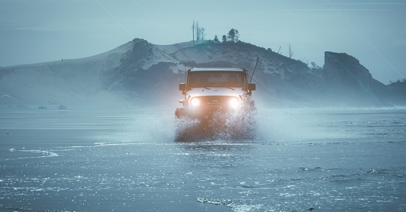 Can the inside of a Jeep get wet?